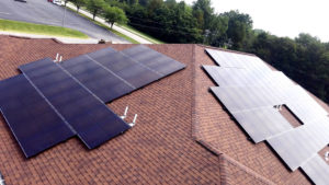 Solar for Kiesser Development student apartments in Mt. Carmel, IL